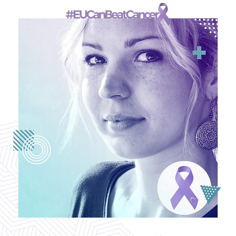 #EUCanBeatCancer Twibbon